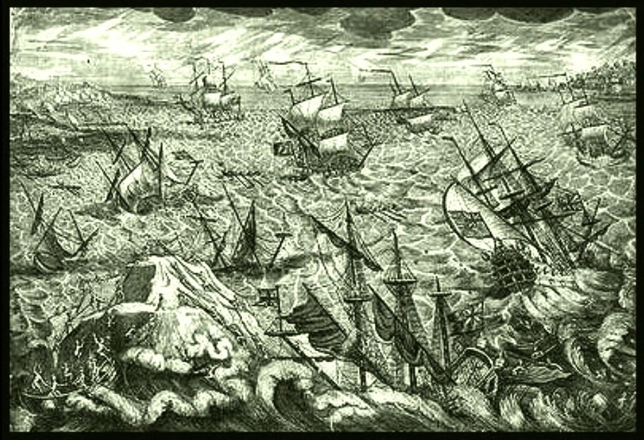 De grote storm van december 1703