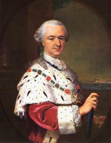 """De Palatijnse Elector of keurvorst, Karl Theodor, stichter van de """"Societas meteorologica palatina"""""""