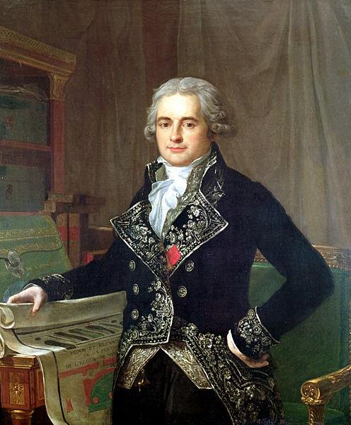 Jean-Antoine Chaptal (1756-1832), Minister van Binnenlandse Zaken in Frankrijk.