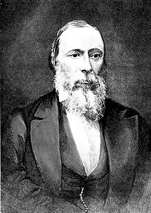 Jean-Charles Houzeau de Lehaie (1820-1888), directeur van de Koninklijke Sterrenwacht van Brussel van 1876 tot 1883.(Copyright bron: http://en.wikipedia.org/wiki/File:PSM_V38_D448_Jean_Charles_Houzeau.jpg)