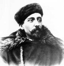 """De """"Belgica"""" Antarctica expeditie: Adrien de Gerlache de Gomery (1866-1934)."""