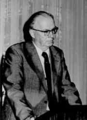André Vandenplas (1913-1991), Directeur van het Koninklijk Meteorologisch Instituut van 1971 tot 1979.