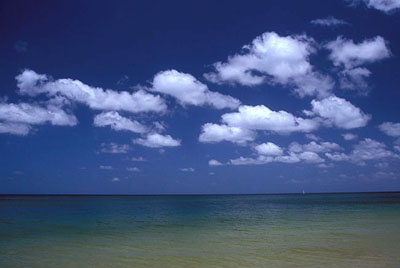 "Cumulus humilis worden ook ""mooiweerwolken"" genoemd."