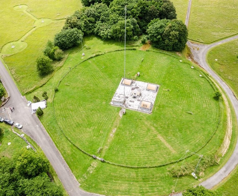 Antenne de la Digisonde-4D