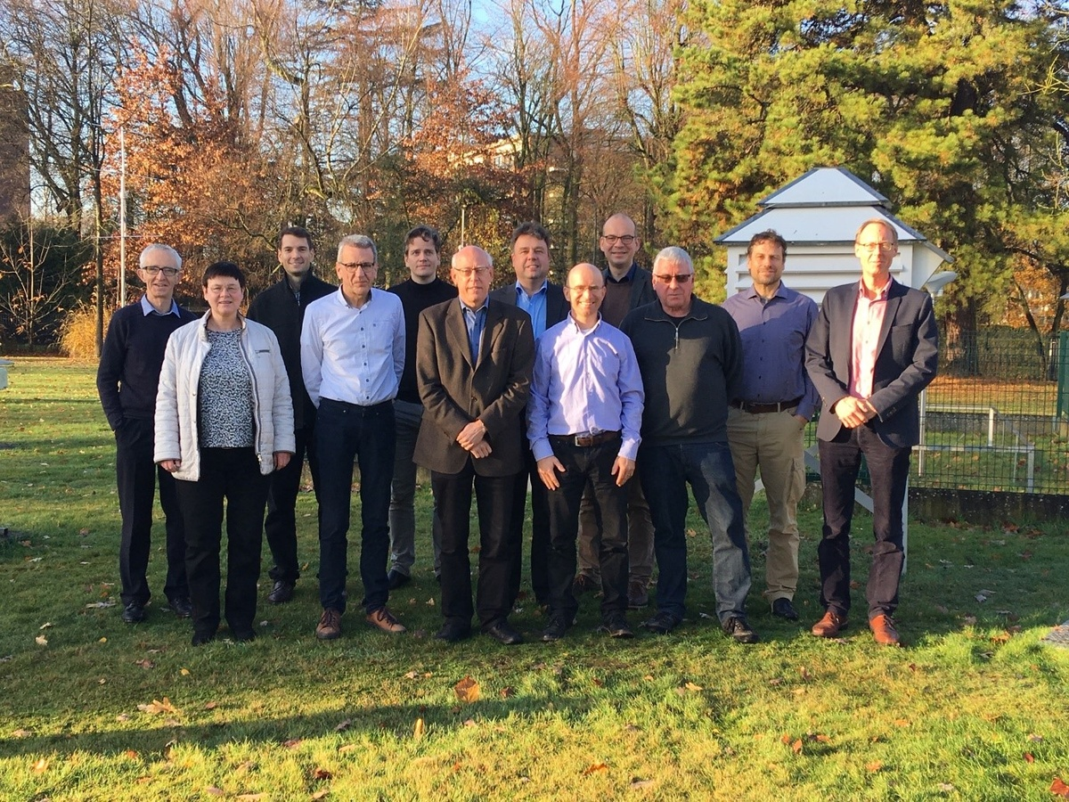 Deelnemers aan de 4e Steering Group meeting van de CM SAF.