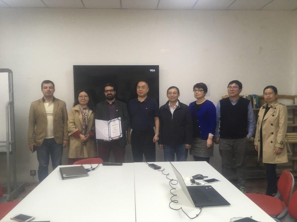 KMI-medewerker Rafiq Hamdi kreeg erkenning van de Chinese Academie van Wetenschappen dankzij zijn onderzoekswerk.