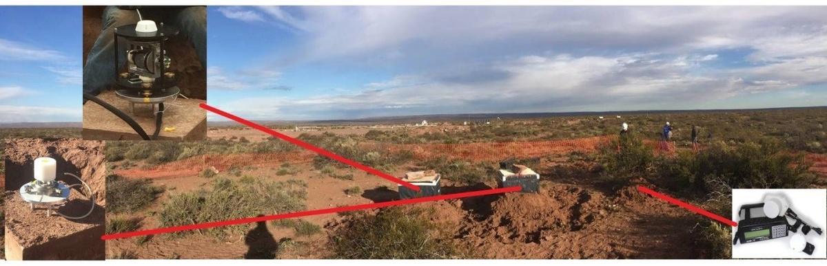L'observatoire magnétique automatique de l'IRM installé en Argentine intègre 3 instruments géomagnétiques (un magnétomètre scalaire, un magnétomètre vectoriel et un Gyrodif, DIFlux automatique permettant d'automatiser la calibration vectorielle). Le traitement des données est automatisé de même que la transmission satellitaire des données en temps réel jusqu'au Centre de Physique du Globe de l'IRM.