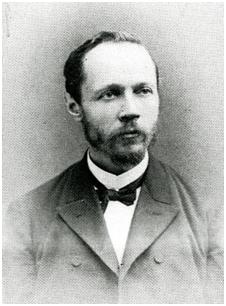 Charles Lagrange, premier directeur scientifique du Service d'Astronomie.