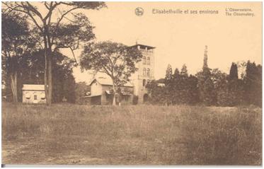 De Sterrenwacht te Elisabethstad [Lubumbashi], Congo.