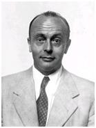 Baron Marcel Nicolet, eerste Directeur van het Belgisch Instituut voor Ruimte-Aëronomie (BIRA). Image credits: University of Chicago