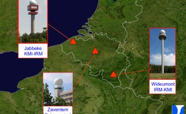 De radar van Jabbeke is operationeel ! - KMI