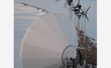 Windturbines, zero emission energiebron - © International Polar Foundation